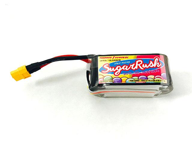 TP 15.2V1500mAh FPV Adrenaline Sweetness 100C HV Lipo, XT(TP1500-4SA100HV)