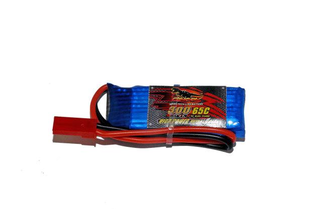 DINOGY ダイノジー リポバッテリー 3.7V300mAh 50C (LC-1S300H)