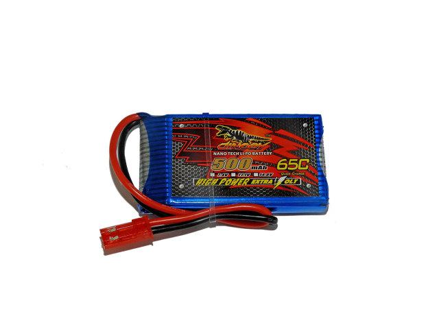 DINOGY ダイノジー リポバッテリー 3.7V500mAh 50C (LC-1S500H)