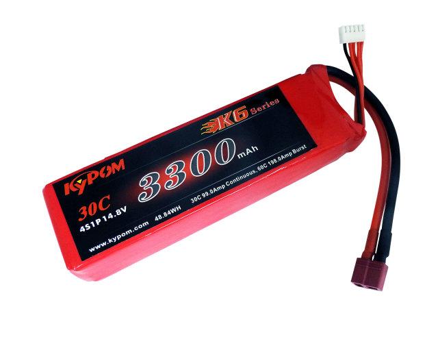 キーポン KYPOM リポバッテリー K6 14.8V3300mAh 30C