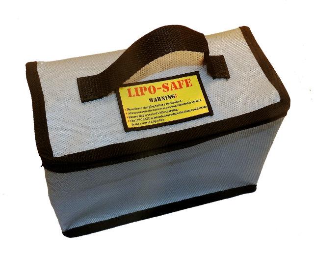 リポバッテリーセイフティーガードバッグ(22x15.5x11cm)
