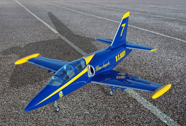 SebArt Mini L-39 ブルーエンジェルスカラー