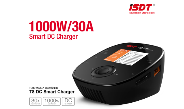 G-FORCE 1000W/30A DC充放電器 T8 DC Smart Charger GDT105