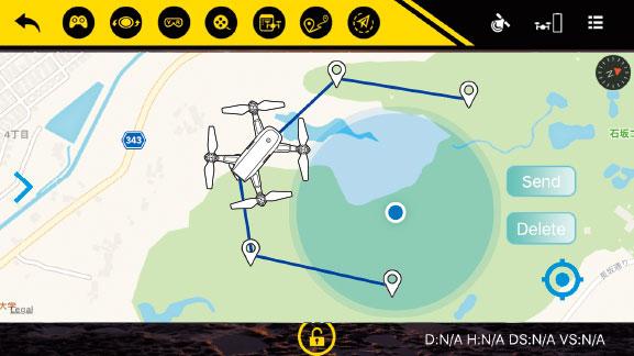 G-FORCE GPS/1080p Wife カメラ搭載インテリジェントドローン INGRESS(イングレス)  GB080