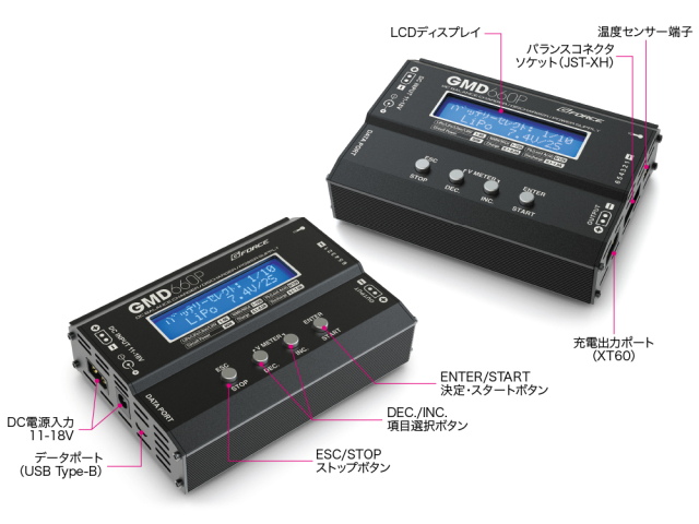 G-FORCE 60W/6A DC充放電器 GMD660P DC Charger G0344