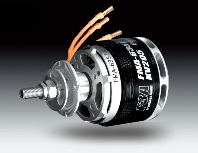 FUTABA FMA-6357KV205 (F3A競技用のダイレクトモーター) 00107262