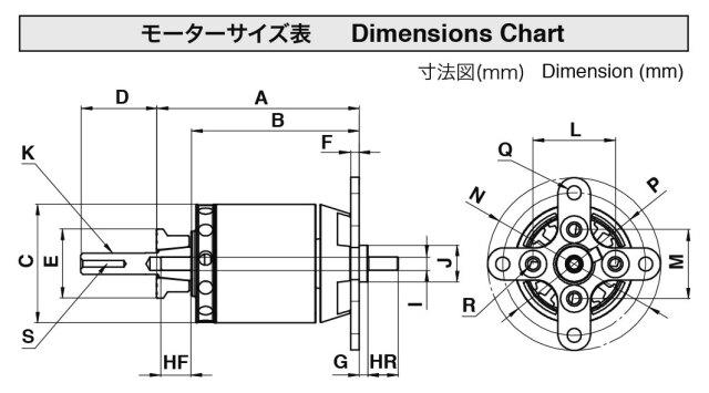 OSモーター OMA-5010-810ブラシレスモーター(51012910)